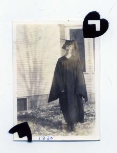 Clara Tollman graduates Nebraska Wesleyan Collge 1930